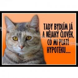 Tabulka HYPOTÉKA kočka 2, univ.