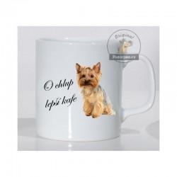 """Yorkshire terrier - """"O chlup lepší kafe"""""""