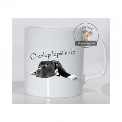 """Americký stafordširský teriér - """"O chlup lepší kafe"""""""