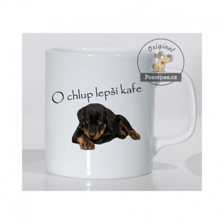 """Rottweiler - """"O chlup lepší kafe"""""""