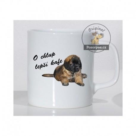 """Leonberger - """"O chlup lepší kafe"""""""