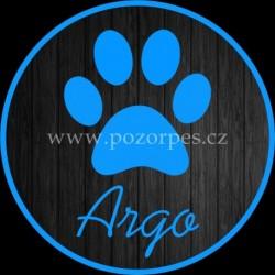 ARGO - Samolepka na auto 3ks