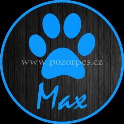 MAX - Samolepka na auto 3ks