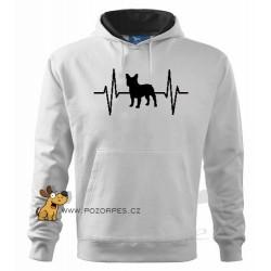 Pánská mikina French Bulldog