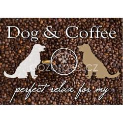 Tabulka DOG & COFFEE - hliník