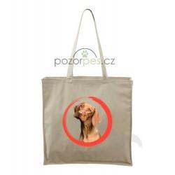 Plátěná taška velká s vlastním motivem  ROUND
