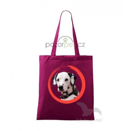 Plátěná taška malá s vlastním motivem  ROUND