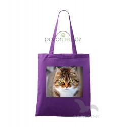 Plátěná taška malá s vlastním motivem INDIVIDUAL