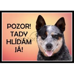 Tabulka Australský honácký pes - hliník
