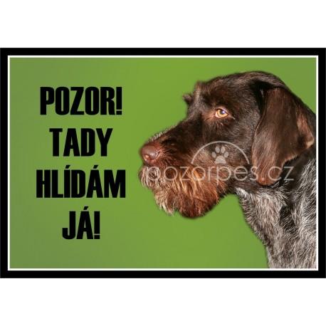 Tabulka Moskevský strážný pes - hliník