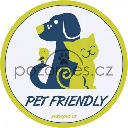 Samolepka PET FRIENDLY