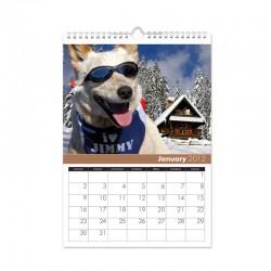 Kalendář s vlastními fotkami A3