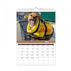 Kalendář s vlastními fotkami A4