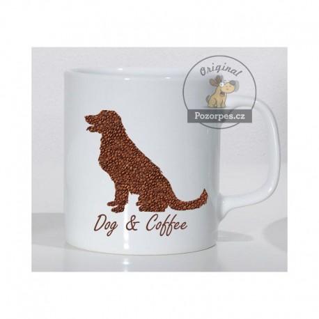 Hrnek bílý - DOG & COFFEE