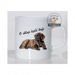 """Anglický mastif - """"O chlup lepší kafe"""""""