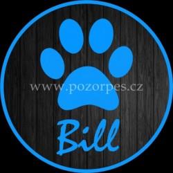 BILL - Samolepka na auto 3ks