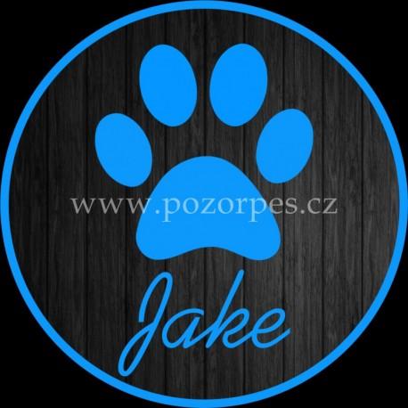 JAKE - Samolepka na auto 3ks