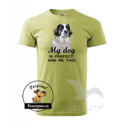 Triko s vlastním motivem typ Perfect dog