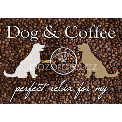 Plakát DOG & COFFEE
