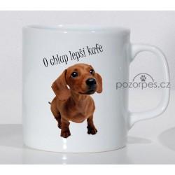 """Jezevčík - """"O chlup lepší kafe"""""""