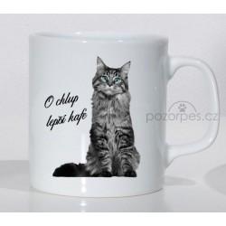 """Mainská mývalí kočka - """"O chlup lepší kafe"""""""